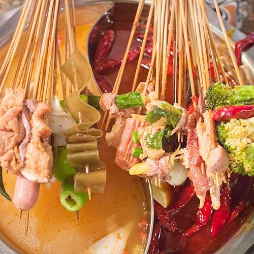 热锅串串香